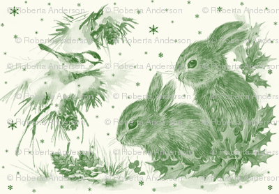 bunnies_in_snow_toile