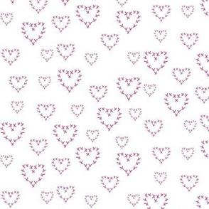 cross my heart, pink