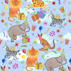 Animals in the Sky Birthday