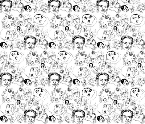 Women's History fabric by coloring_outside on Spoonflower - custom fabric