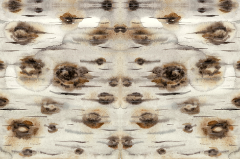 birch bark fabric by gollybard on Spoonflower - custom fabric