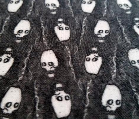 Mini ink skulls