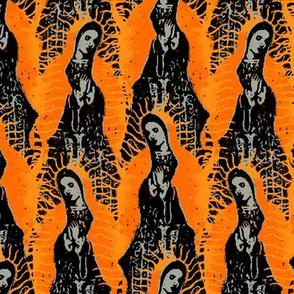 Virgin Mary orange