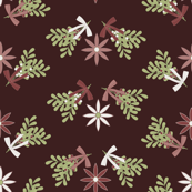 Vintage Christmas Floral