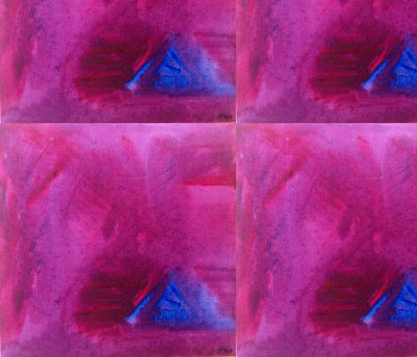 Blu Pyramid fabric by dog_faced_liar on Spoonflower - custom fabric