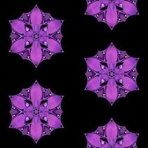 Pink Art Nouveau Flower