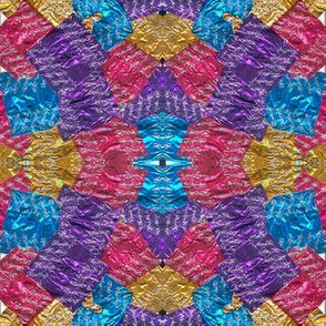 candy wrapper kaleidoscope