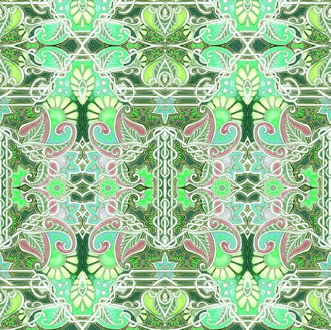 The Leprechaun's Lair fabric by edsel2084 on Spoonflower - custom fabric