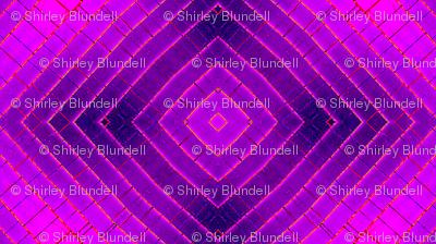 Geometric purple small