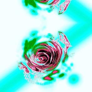 Fluro Rose