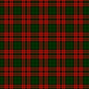 Red and Green Tartan-ed