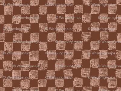 Mahogany Checkerboard
