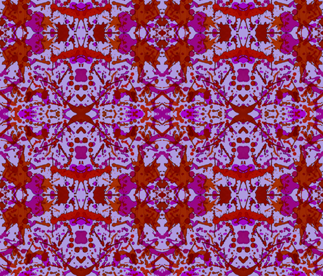 Bloody Fierce!!!  fabric by hrhsf-designs on Spoonflower - custom fabric