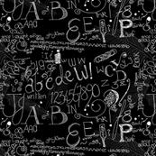 Calligraphy Blackboard