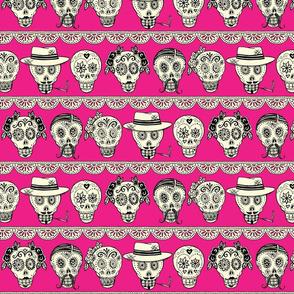 Los Muertos Pink (medium scale)