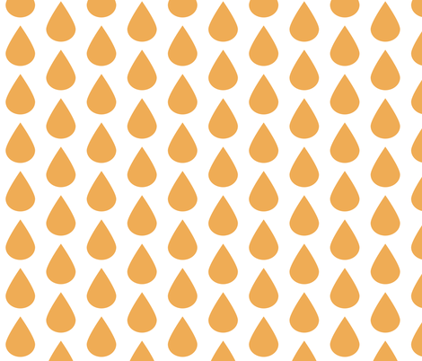 droporange fabric by myracle on Spoonflower - custom fabric