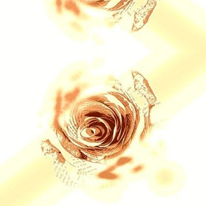 Glowing Sepia Roses