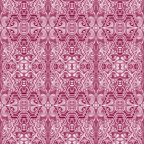Fred Said Red fabric by edsel2084 on Spoonflower - custom fabric