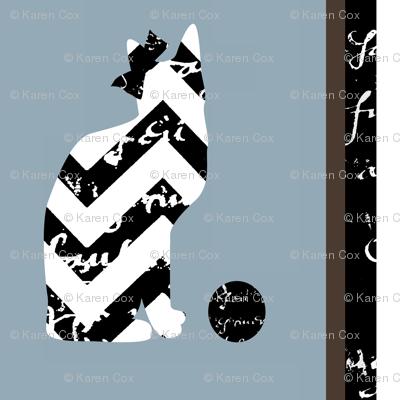 Mom Cat Stripe\