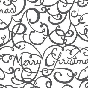 Merry Christmas Caligraphy