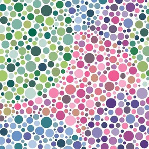 blank Ishihara dots in Synergy0011 colors