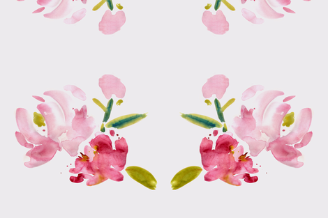 viv_newpeony fabric by cest_la_viv on Spoonflower - custom fabric