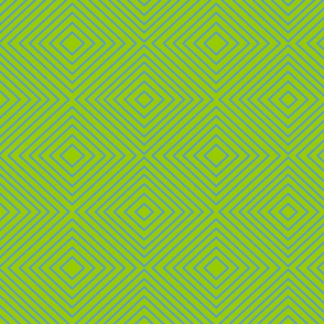 Squares - Bright Lime and Bright Blue