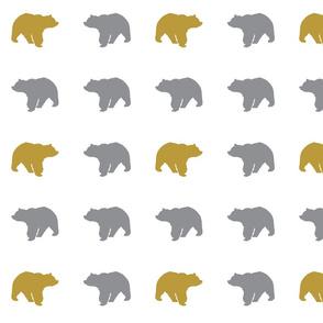 bear (mustard) // Wild lake