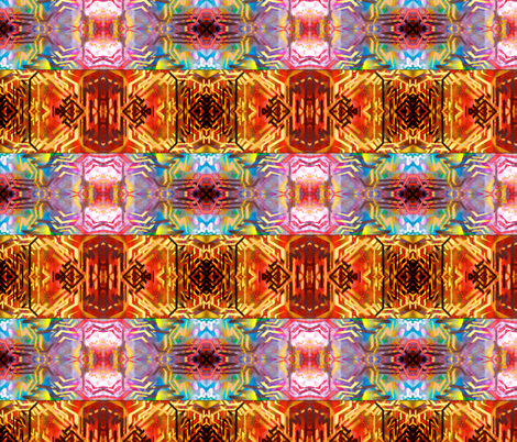 Graffiti Navajo Graphic fabric by hrhsf-designs on Spoonflower - custom fabric