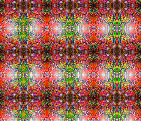Surreal Graffiti Print fabric by hrhsf-designs on Spoonflower - custom fabric
