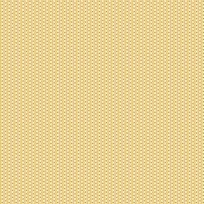 Yellow Floral Stripe