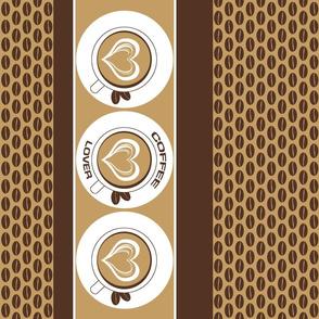 Milky Coffee Lover Teatowel