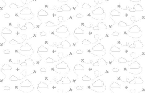 Rrrrrrrrrclouds___rain_-_planes_in_clouds_gray_on_white_shop_preview