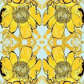 Yellow Peony