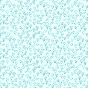 Sketchy Gems - Light Blue