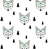 fox and trees mint