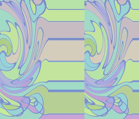 008spfl2distwaverblauwgroen2a fabric by hildebrandt on Spoonflower - custom fabric