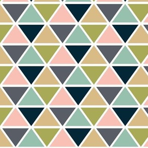 triangles // a little girly