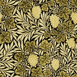 William Morris ~ Jungle Vines ~ Spring Green
