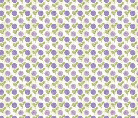Purple Chrysanthemums fabric by diane555 on Spoonflower - custom fabric