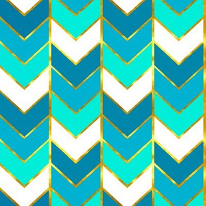 Ombre fabric wallpaper gift wrap spoonflower Ombre aqua wallpaper