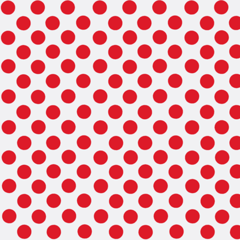 Santa's Wonderland Polka Dot Christmas Red/White-ch fabric by parisbebe on Spoonflower - custom fabric