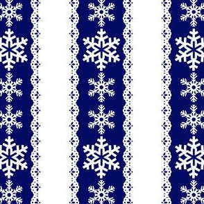 Noel Snow Flakes Vertical