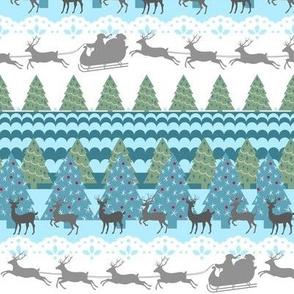 Oh Deer Santa's Coming to Town