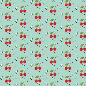 Cherry turquoise
