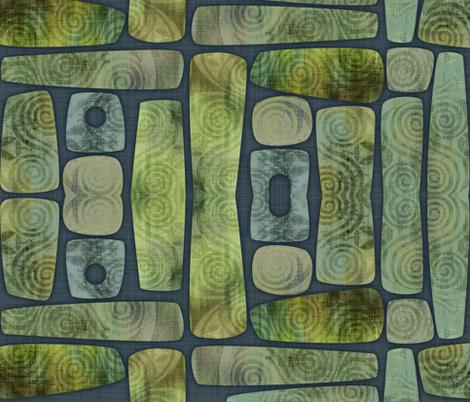 Greenstone fabric by spellstone on Spoonflower - custom fabric
