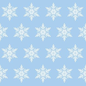 Let it Snow! Snowflake - Lt Blue