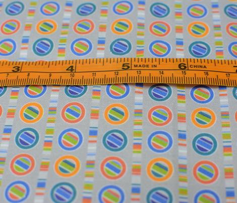 Mini Striped Circles