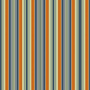 stripes with orange