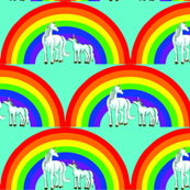 unicorns_and_rainbow_with_aqua_background